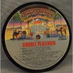 Kiss   Double Platinum (Coaster)