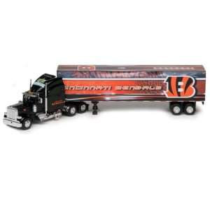 Bengals Upper Deck Collectibles NFL Peterbilt Tractor Trailer