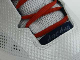 NIKE JORDAN 2011 Q FLIGHT NEW Mens White Red Blue Basketball Shoes