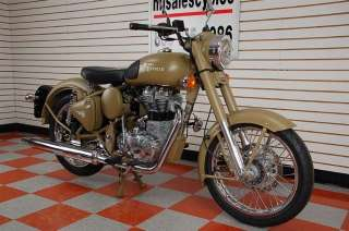 Classic C5 Military DESERT STORM in Royal Enfield   Motorcycles