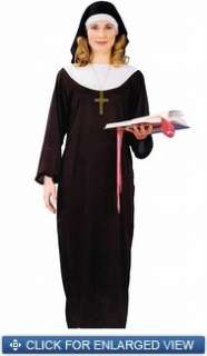 Adult nun halloween costume one size fits most