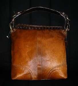 COACH Limited Ed HAIR CALF Chelsea Leather Purse Bag