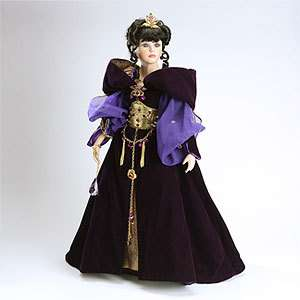 Limited Edition Kingstate Amethyst 27in Porcelain Doll Prestige