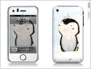 APPLE IPHONE 3G/3GS Skin Cover Sticker PENGUIN +CLEANER