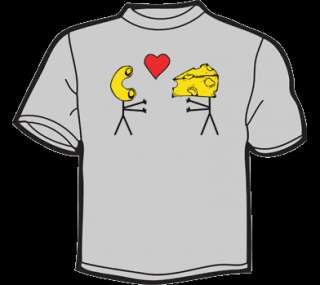 MAC N CHEESE T Shirt WOMENS funny vtg 80s threadless