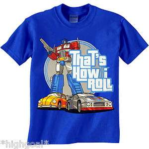 Mens Optimus Prime Autobot Vtg Transformers 80s Truck Tee T Shirt M L