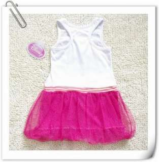 Girls Kids1 7Y Princess Dora Costume Summer Top Fairy Dress Tutu Skirt