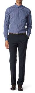 PS BY PAUL SMITH Gingham slim fit single cuff shirt
