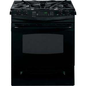 GE Profile 30 In. Self Cleaning Slide In Dual Fuel Convection Range in