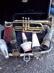 Trumpet Mutes 1940s  1950s Big Band Era Shastock Humes Berg Cup Mute