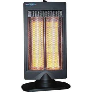 Soleus Air Halogen Flat Panel Reflective Heater HR3 08 21 at The Home