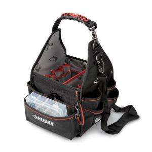 Husky 10 In. Electricians Bag With Driver Wall 85569 N11 at The Home