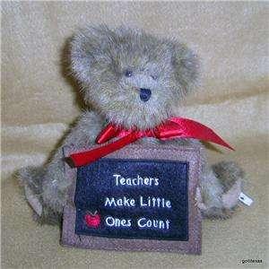 Boyds Bears Teacher Message Bear 8 Vintage RET