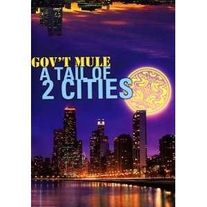 Govt Mule   A Tail Of 2 Cities (2 DVDs)  Govt Mule Filme