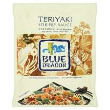 Blue Dragon Teriyaki Stir Fry Sauce 120G   Groceries   Tesco Groceries
