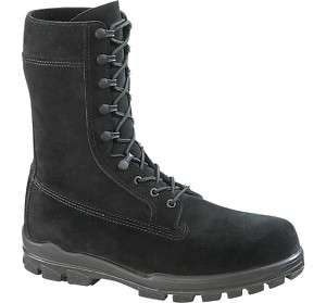 Bates Womens 9 US Navy Suede DuraShock Steel Toe Boot