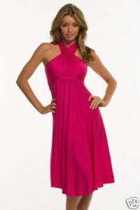 Rayon Jersey Knit BLACK Dress 8 way RL407 Small, Med, & Large