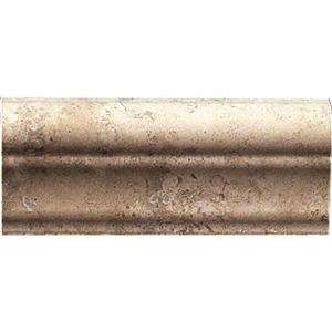 MARAZZI Montagna 2 in. x 6 in. Cortina Porcelain Sink Rail Trim Tile