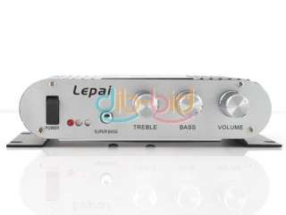 LEPAI Mini Amp Audio Amplifier Hi Fi Stereo AMP Car/Boat/Motor