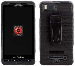 NEW OEM Motorola Droid X Body Glove Case Cover W/Clip MB870