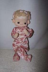 Vintage Praying Precious Moments Doll