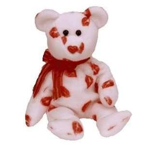 Ty, Beanie Baby, Smooch der Bär Valentins  Spielzeug