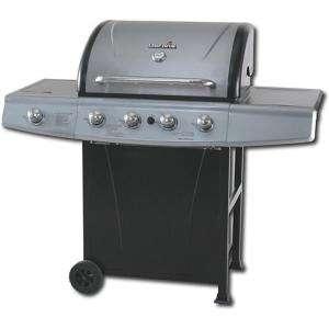 Char Broil 4 Burner Propane Gas Grill with Lidded Side Burner