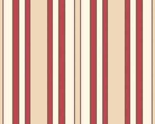 ESPRIT Tapete Vlies 2201 34 Streifen rot creme beige 3,18€/m²