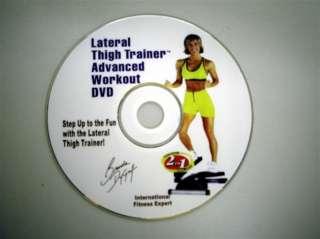 DVD zum Stepper Lateral Thigh Trainer mit Brenda Dygraf