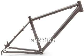 /Mountain bike frame XC/Ti/14~22 1450g Double butted,in Matte