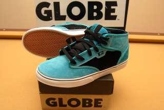 Globe Motley Mid Ocean/Black Skate Shoes NEW IN BOX