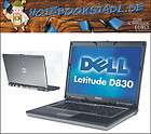 XP Notebook DELL Latitude D830 Core2Duo T7250 2x2GHz 2GB RAM 15,5