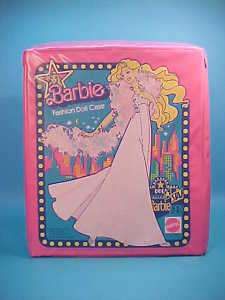 VINTAGE BARBIE FASHION DOLL CASE MATTEL 1977