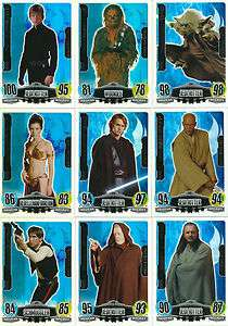 Force Attax Star Wars Serie 3 * Force Meister   Nr. 225   233 * selber