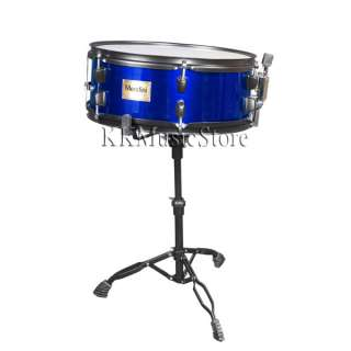 NEW BLUE 5 PIECE COMPLETE DRUM SET+CYMBAL+THRONE+STOOL