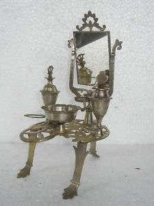 Old German Silver Mini Vanity Dressing Table
