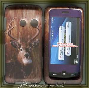 Hard Snap on Cover Case LG RUMOR TOUCH LN510 Camo deer night