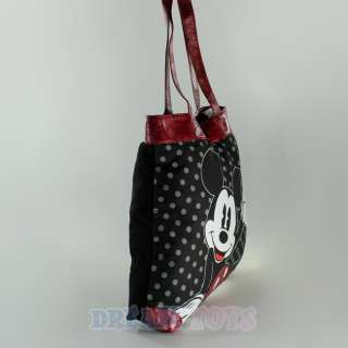 Disney Mickey Mouse Polka Dot Large Tote Bag   Diaper Bag Purse