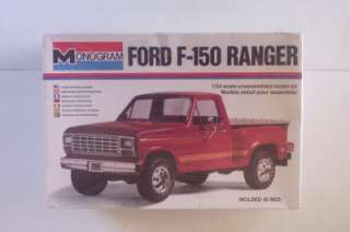 4x4 Pickup Truck 1:24 Monogram SEALED Model Kit Vtg 1980 #2262