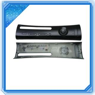 Black Faceplate CASE Cover for Microsoft Xbox 360 US