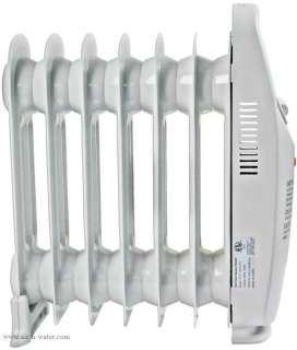 AH 410 NewAir Oil Filled Radiator Heater With Adjustable Thermostat