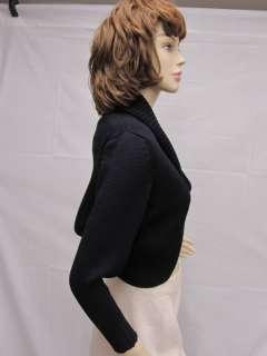 St John SPORT Jacket Bolero Shrug Black Size P 2 4