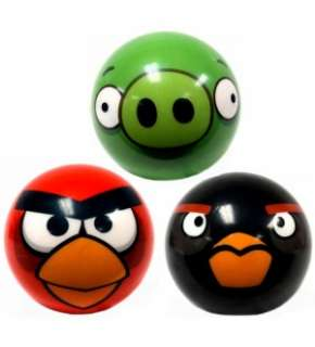 Angry Birds 3 Foam Ball Set Of 3 *New*