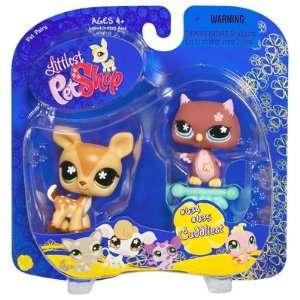 Littlest Pet Shop   Pet Pairs   Cudliest   Bambi / Rehkitz #634 & Eule