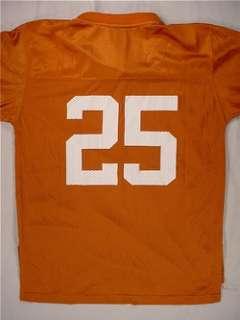 TEXAS LONGHORNS Football Jersey (#25) Youth Large   Burnt Orange