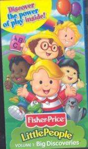 Little People, Big Discoveries, Volume 1 (VHS, Engli