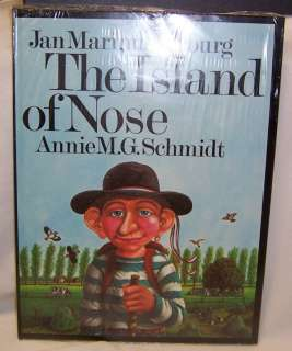Jan Marinus Verburg ISLAND OF NOSE Fantasy Picture Book
