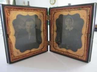 Antique Civil War Daguerreotype L P & Co. Union Cases