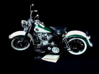 Franklin Mint 1958 Harley Davidson Duo Glide 110 Scale