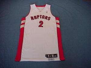 Darrick Martin 2006 07 Toronto Raptors game used jersey